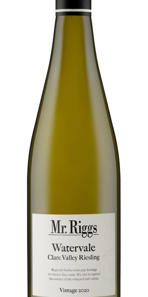 Mr. Riggs 2020 Watervale Riesling Bottle Shot